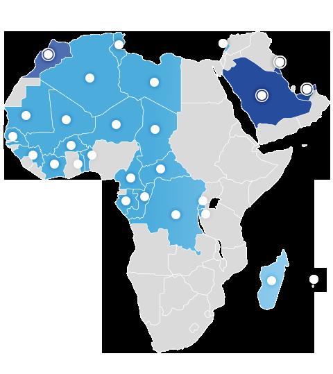 Afrique, Proche et Moyen Orient
