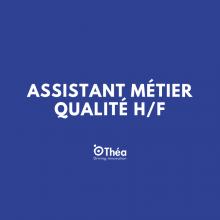 Laboratoires Théa recrute pour des postes de Assistant Métier Qualité H/F (Clermont-Ferrand, Auvergne-Rhône-Alpes, France) | LinkedIn