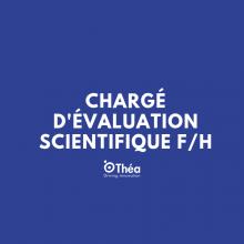 Chargé d'évaluation scientifique F/H - Clermont-Ferrand